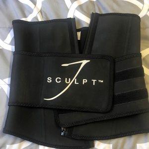 Sculpting belt